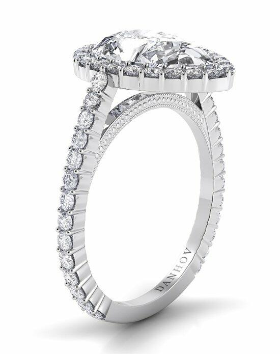 Danhov Carezza Halo Engagement Ring photo