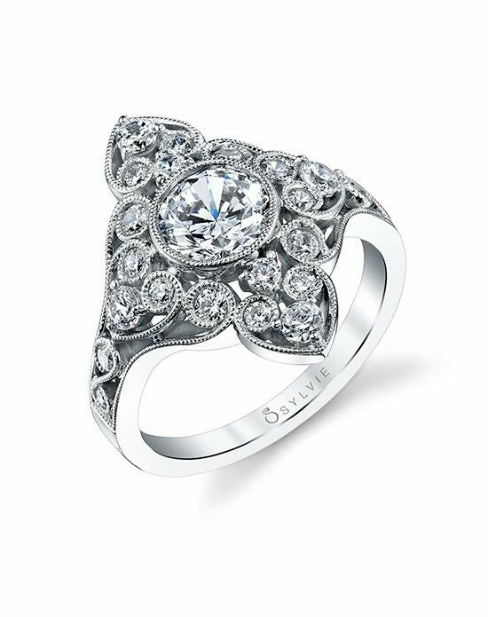 Sylvie Collection S1214 Engagement Ring photo