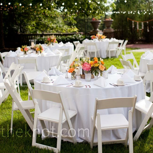 Neutral reception decor for Decorating chairs for wedding reception