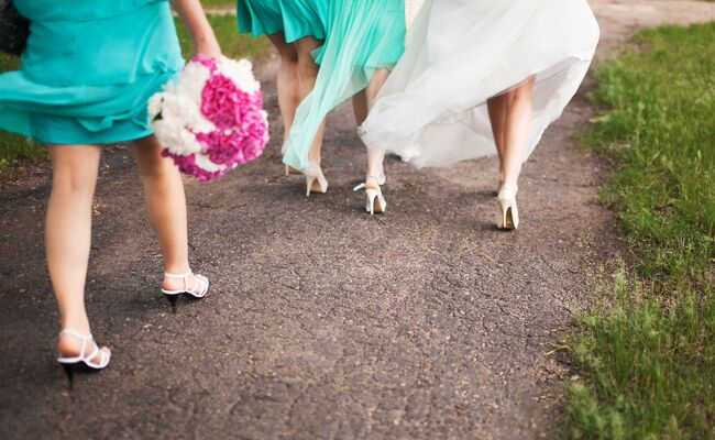 Bridesmaids: Thinkstock / TheKnot.com