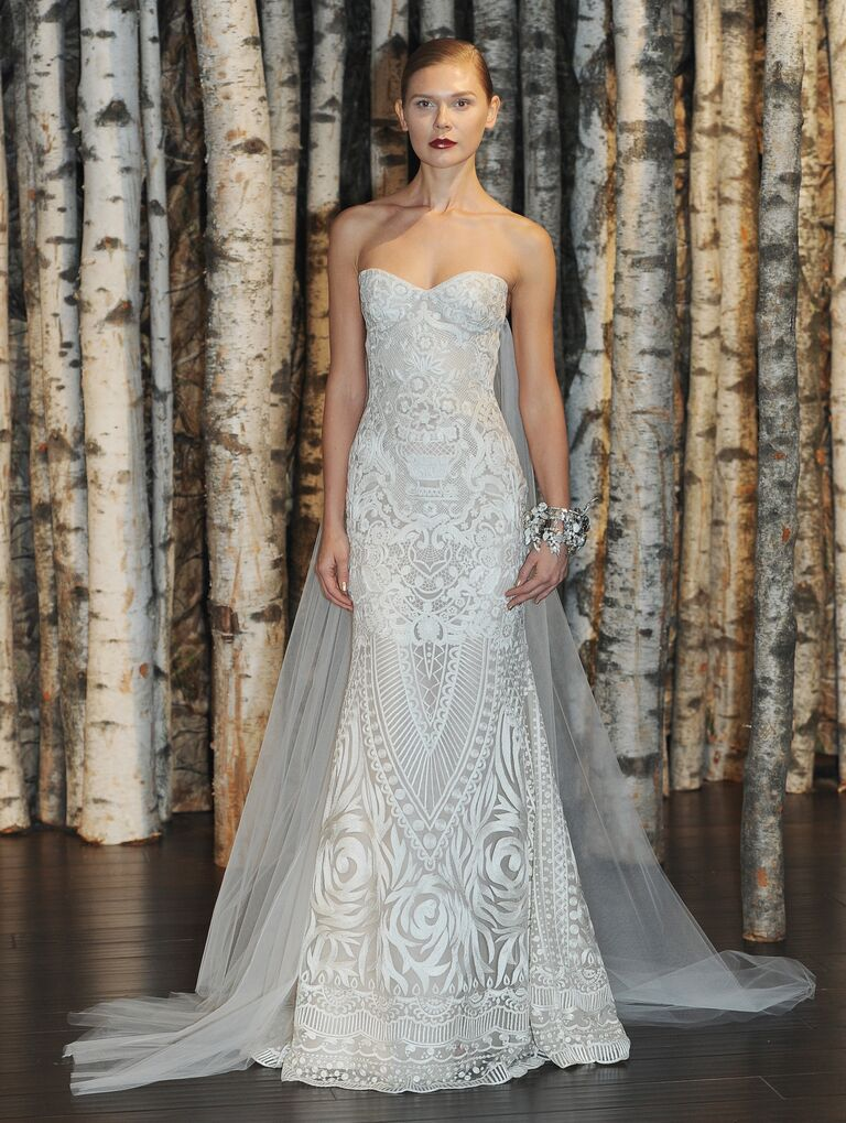 Unique Wedding Gowns 50 Fabulous Embroidered Naem Khan wedding