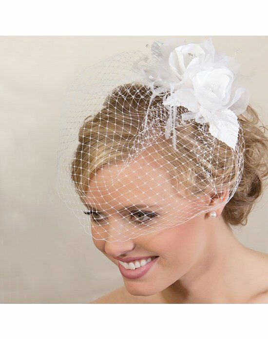 USABride Double Rose Cage Veil VB-492 Wedding Accessory photo