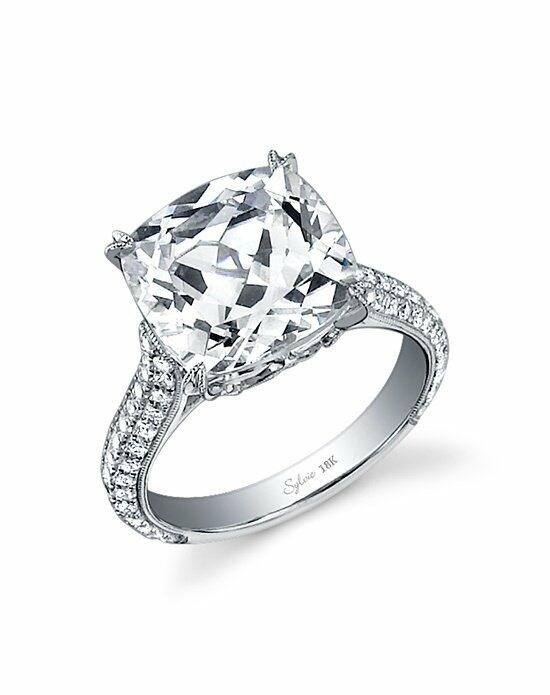 Sylvie Collection SY461 Engagement Ring photo