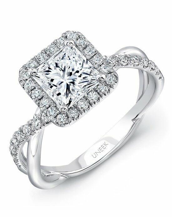 Uneek Fine Jewelry SM817PR-5.5PC Engagement Ring photo