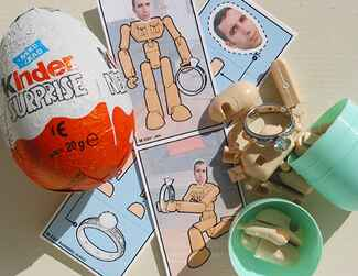 Kinder egg marriage proposal