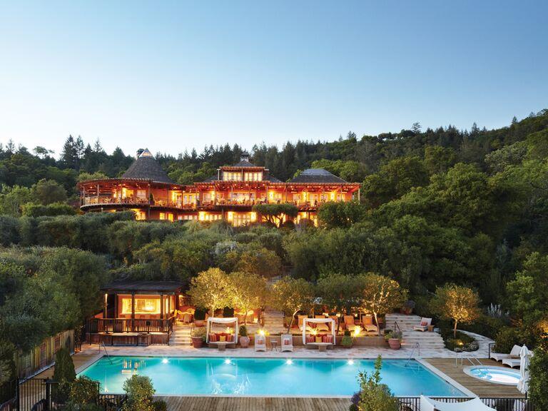 10 classic california wedding venues auberge du soleil wedding venue junglespirit Images