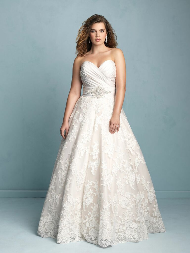 Famous Long Sleeve Wedding Dresses Plus Size Mold - All Wedding ...