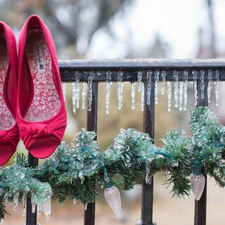 A Winter Wonderland Wedding in Oklahoma City