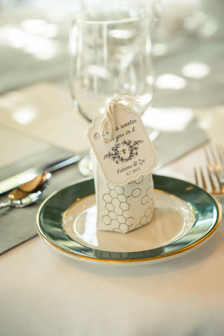 Life Is Sweeter Honey Wedding Favors