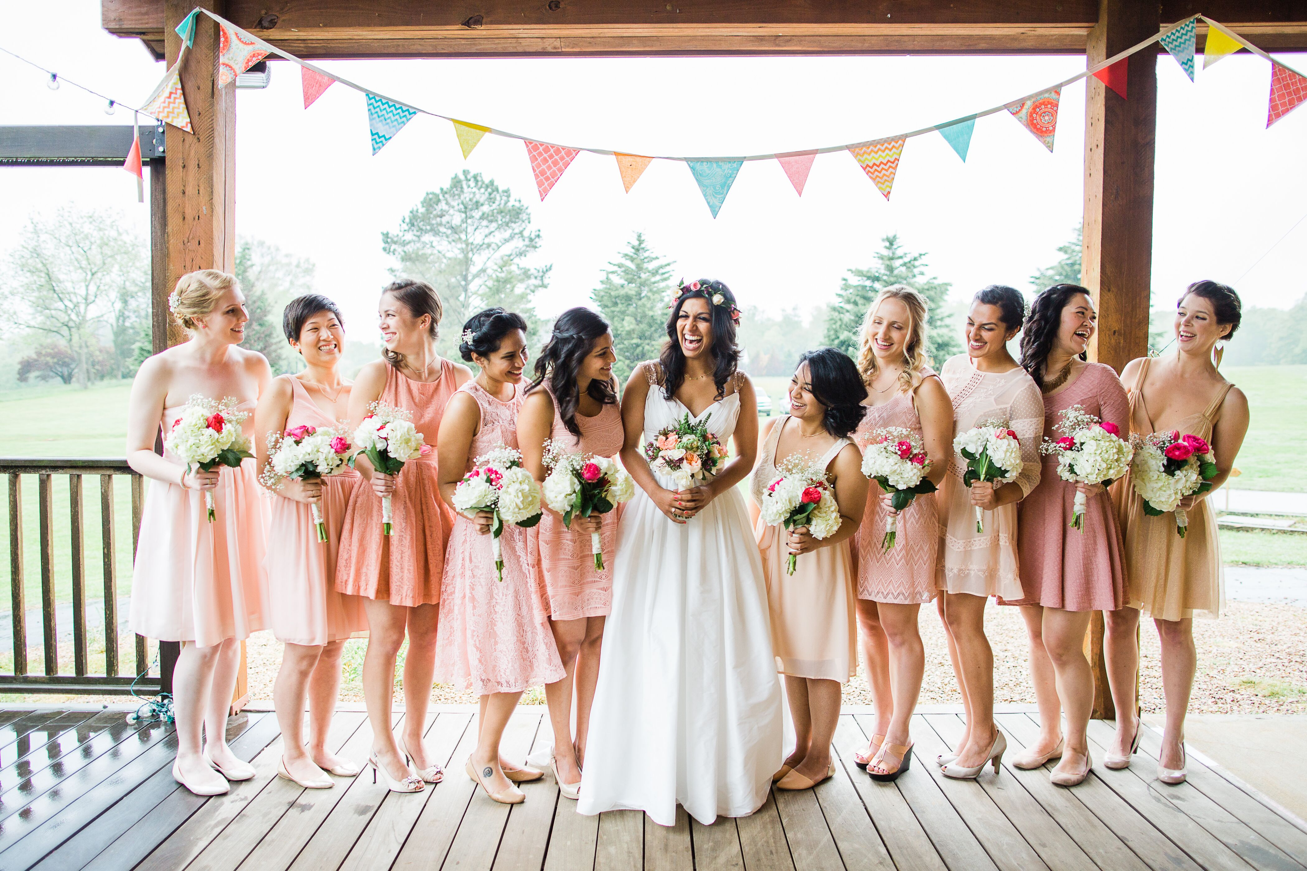 Eclectic dusty rose bridesmaid dresses ombrellifo Gallery