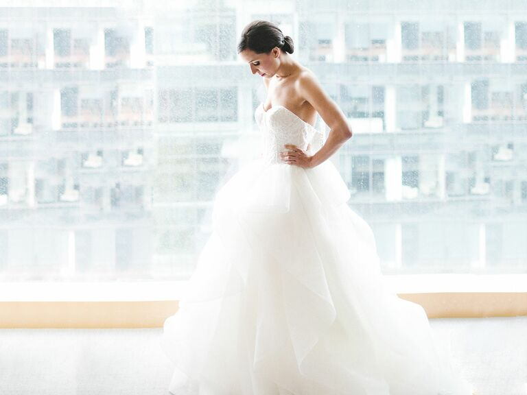 Bride In Her Ball Gown Wedding Dress Photo By The Schultzes
