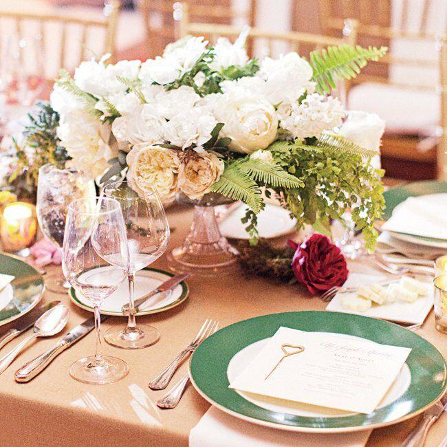 Garden Decor Los Angeles: A New Years Eve Garden-Inspired Wedding In Los Angeles, CA