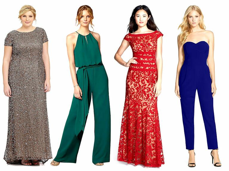 Classic Dresses For A Wedding Guest: What To Wear To A Winter Wedding: 60 Guest Dresses