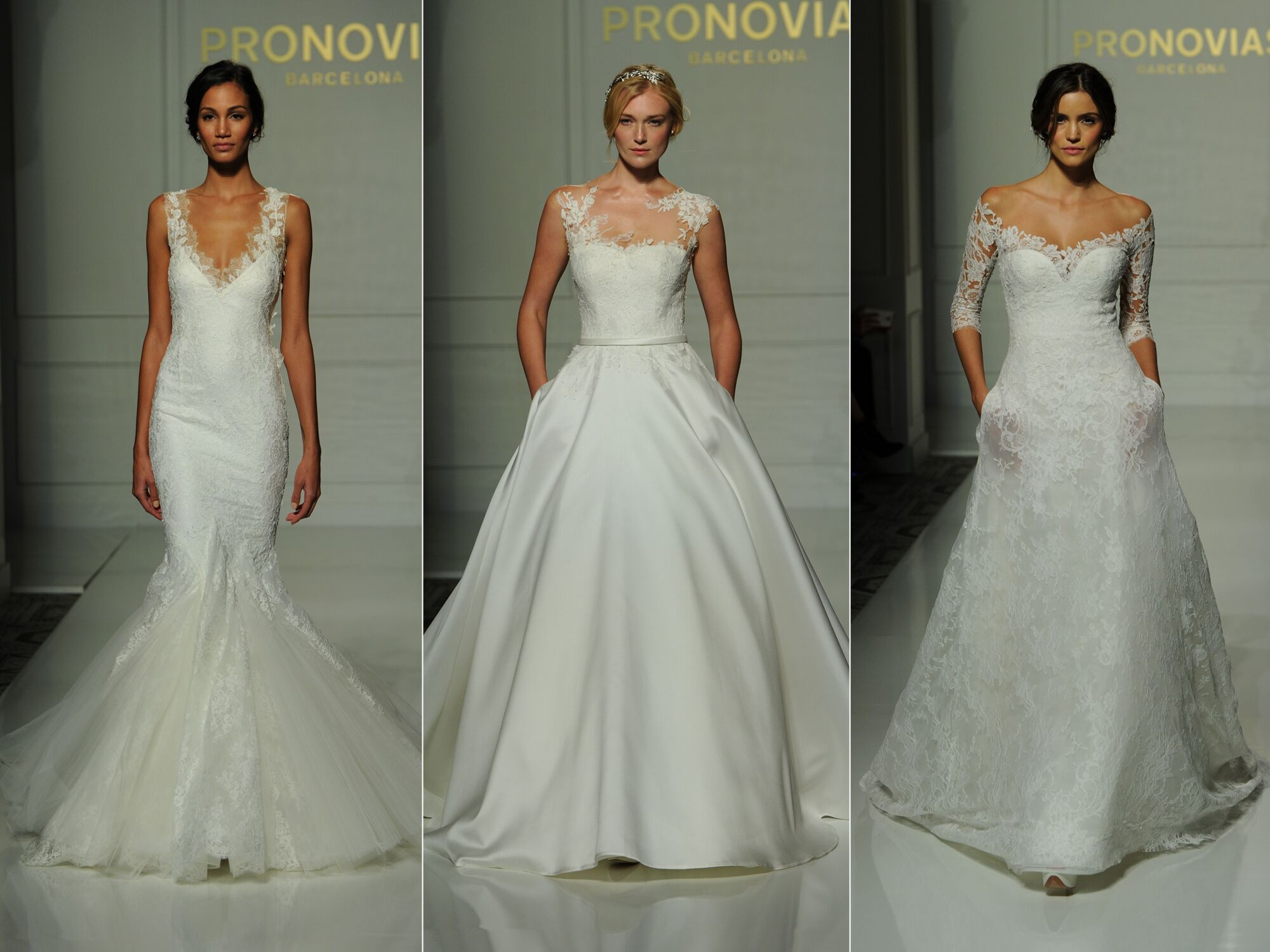 Wedding Gowns 2016: Pronovias Fall 2016 Collection: Wedding Dress Photos