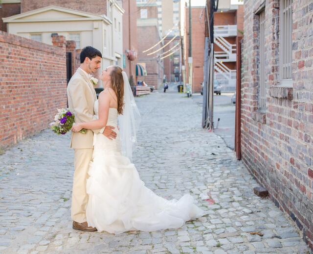 A Rustic Wedding At Linden Row Inn In Richmond Virginia