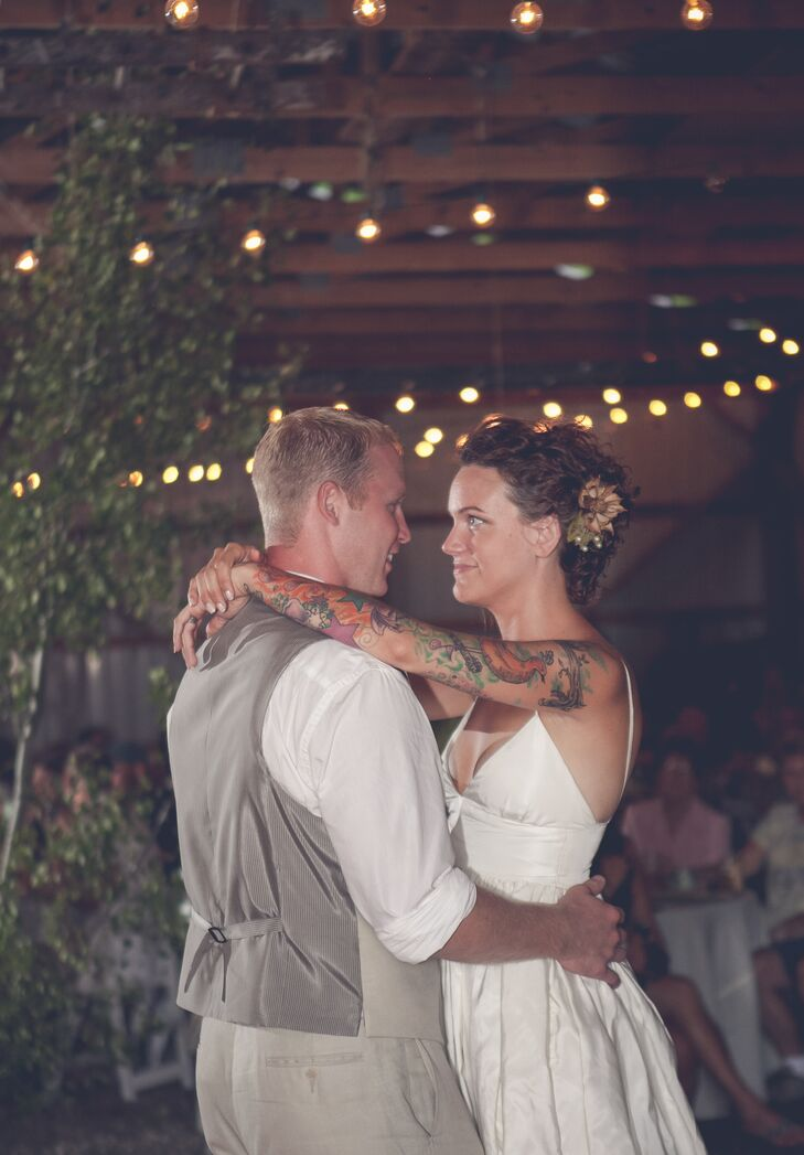 A Rustic Green Wedding at a Private Residence in Cuba, New York