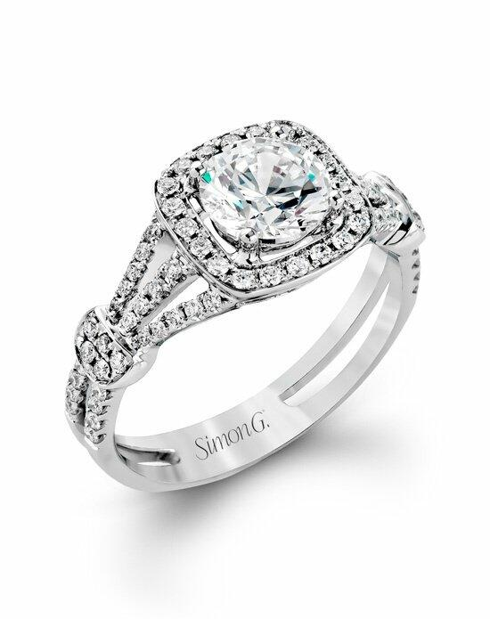 Simon G. Jewelry TR418 Engagement Ring photo