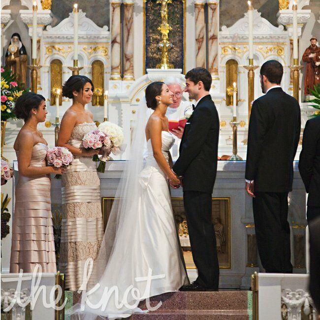 Holy Rosary Catholic Church Wedding