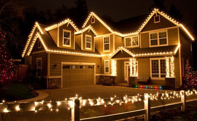 Safely Hang Your Christmas Lights This