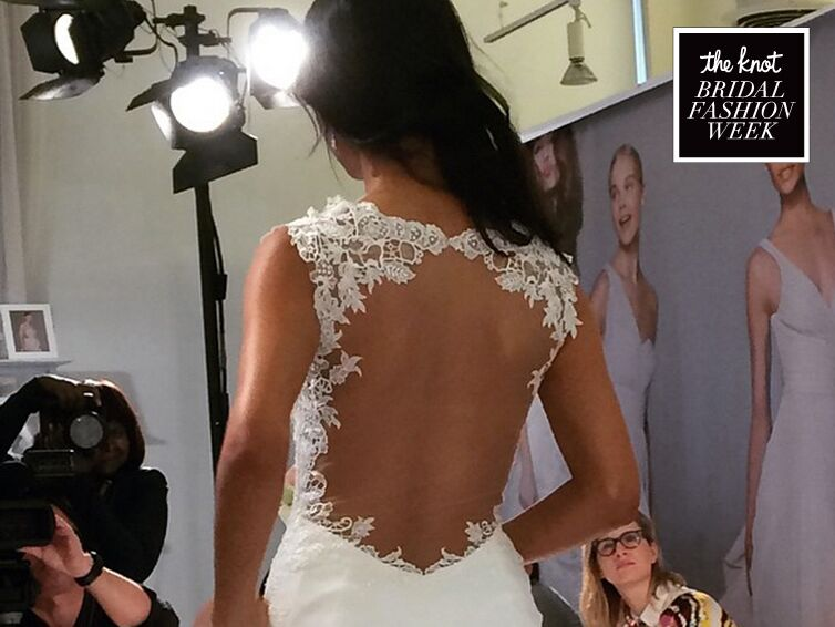 Day 4 of The Knot's Bridal Fashion Week Instagram Moments