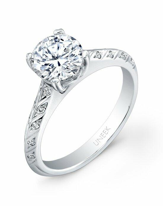 Uneek Fine Jewelry USM026-6.5RD Engagement Ring photo