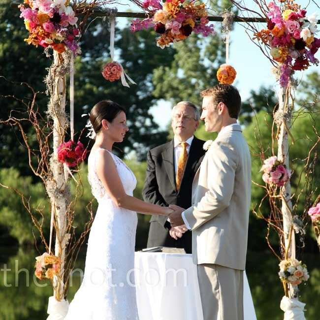 Outdoor Wedding Altar Pictures: An Outdoor Wedding In Mokena, IL