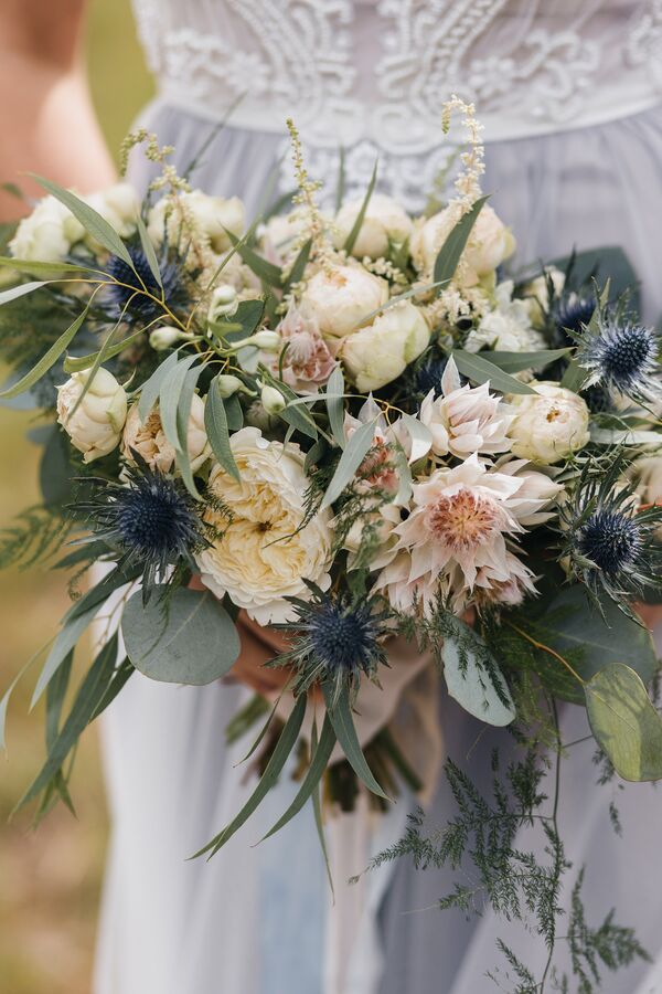 Beautifully 'Messy' Bouquet