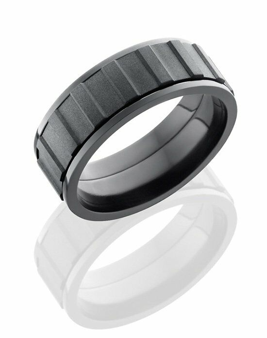 Lashbrook Z8F/GEARSPINNERALLBLK Wedding Ring photo