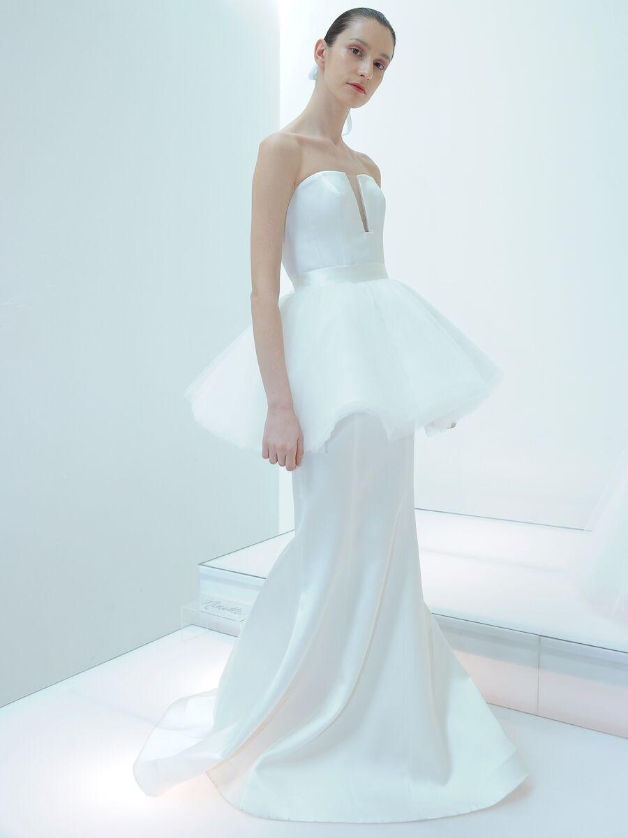 Francesca Miranda Spring 2019 Collection: Bridal Fashion Week Photos