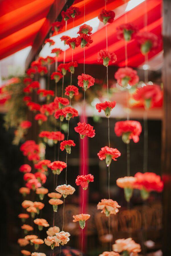 Indian Wedding Flower Arrangements