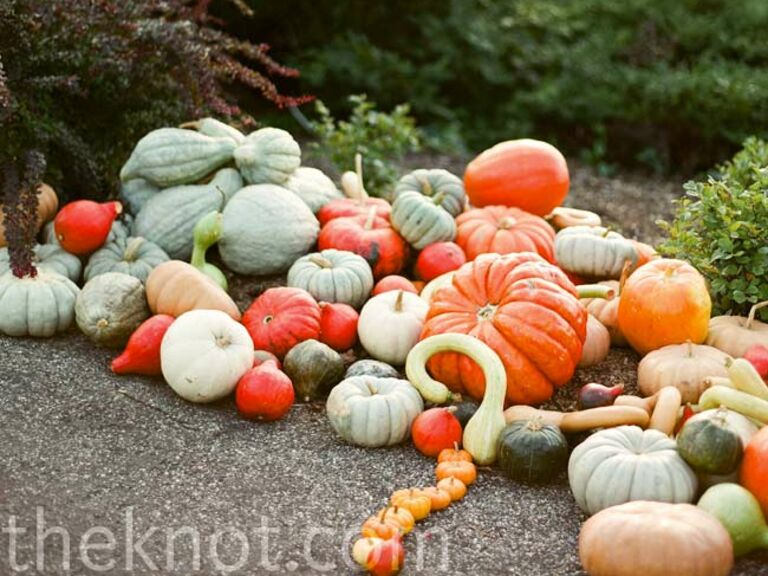 Real Fall Wedding Decorations