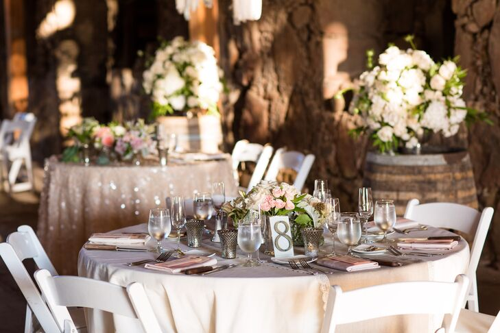 An Elegant Rustic Chic Barn Wedding At Santa Margarita