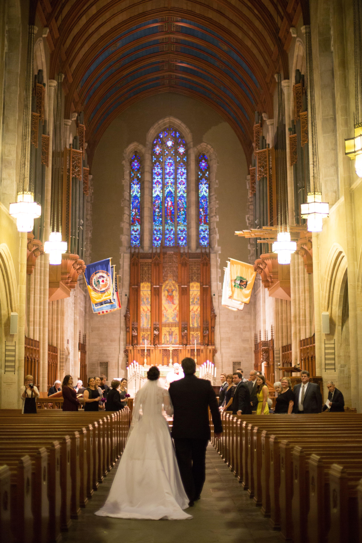Secret Ceremony At Muhlenberg College Chapel