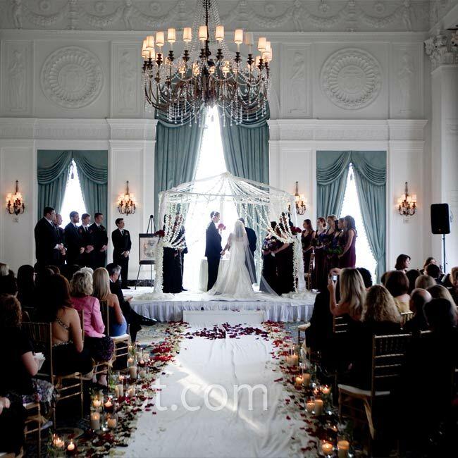Indoor Wedding Ceremony Victoria Bc: Ballroom Wedding Ceremony
