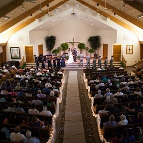 Rustic church wedding decorations accents traditional ceremony inside shilo mennonite church junglespirit Image collections