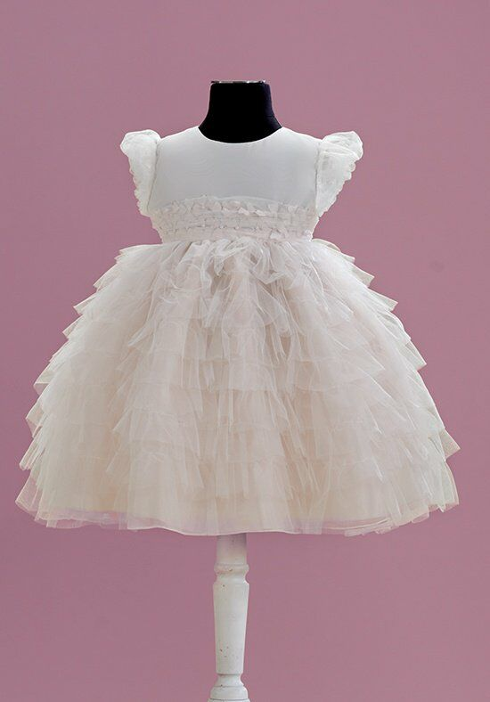 Joan Calabrese by Mon Cheri 215354B Flower Girl Dress photo