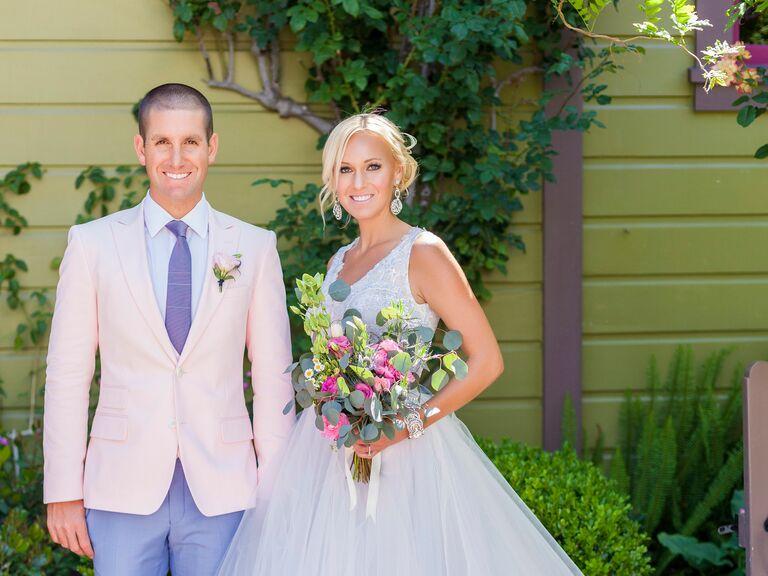 Real Blue Wedding Dresses