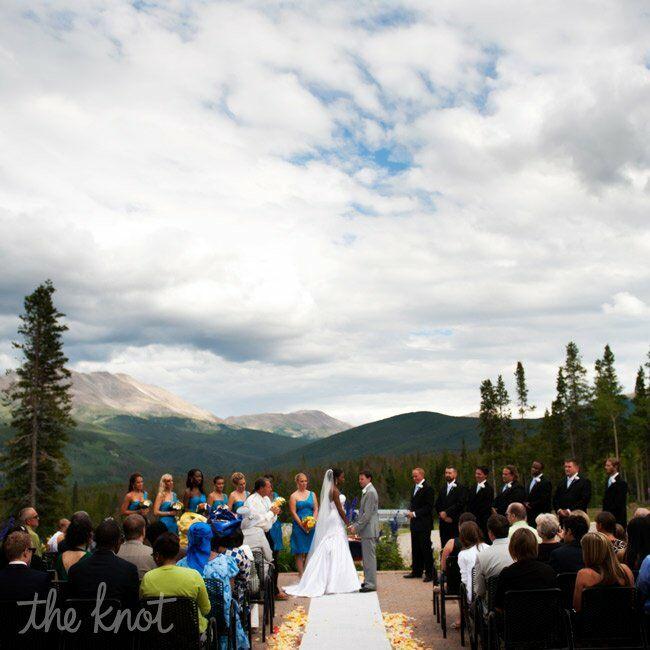 Mountain Wedding Ceremony: Mountain View Wedding Ceremony