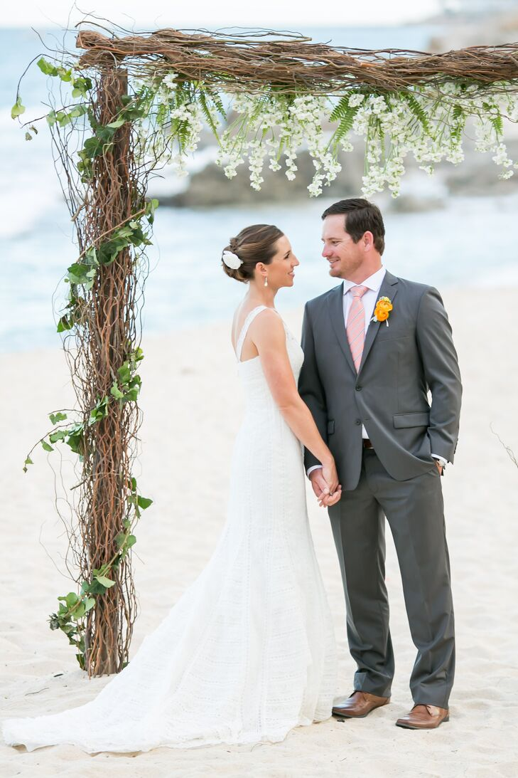 Lace Pronovias Wedding Dress