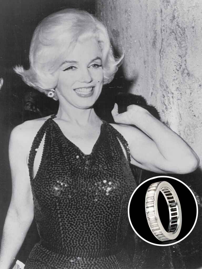 Marilyn Monroe's engagement ring from Joe DiMaggio