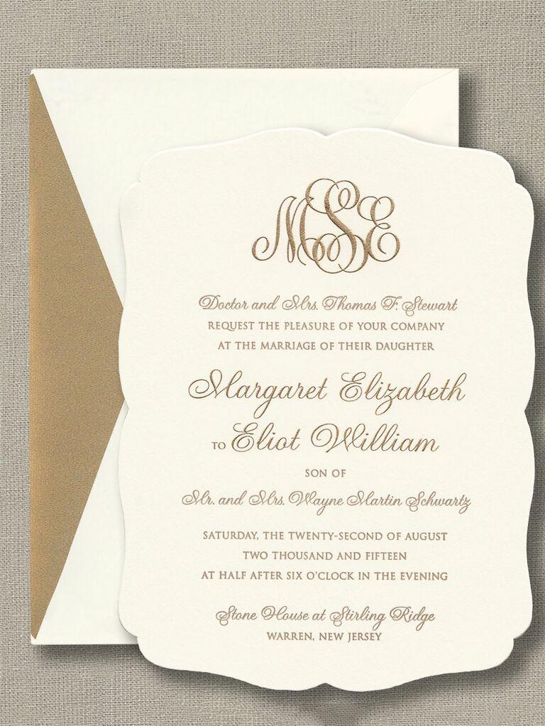 engraved invitations - Wedding Invitation Printing