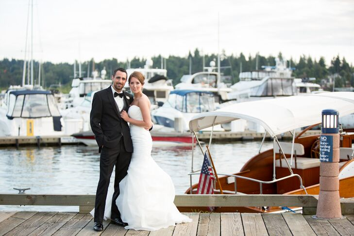 Waterfront Wedding At The Woodmark Hotel In Kirkland Washington