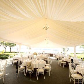 Elegant White Tent Reception Venue & Wedding Tents