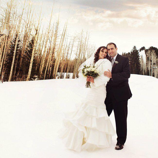 A Vintage Ski-Themed Wedding In Park City, UT