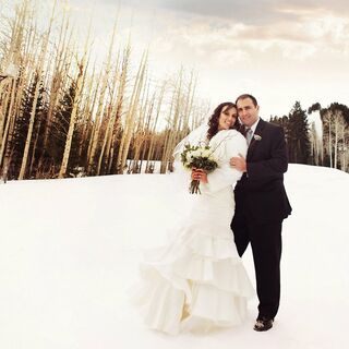 A Winter Ski-Themed Wedding in Park City