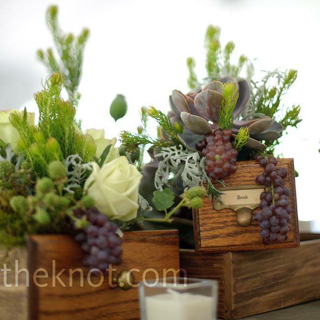 Natural Floral Centerpieces