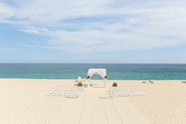 Romantic Beach Ceremony