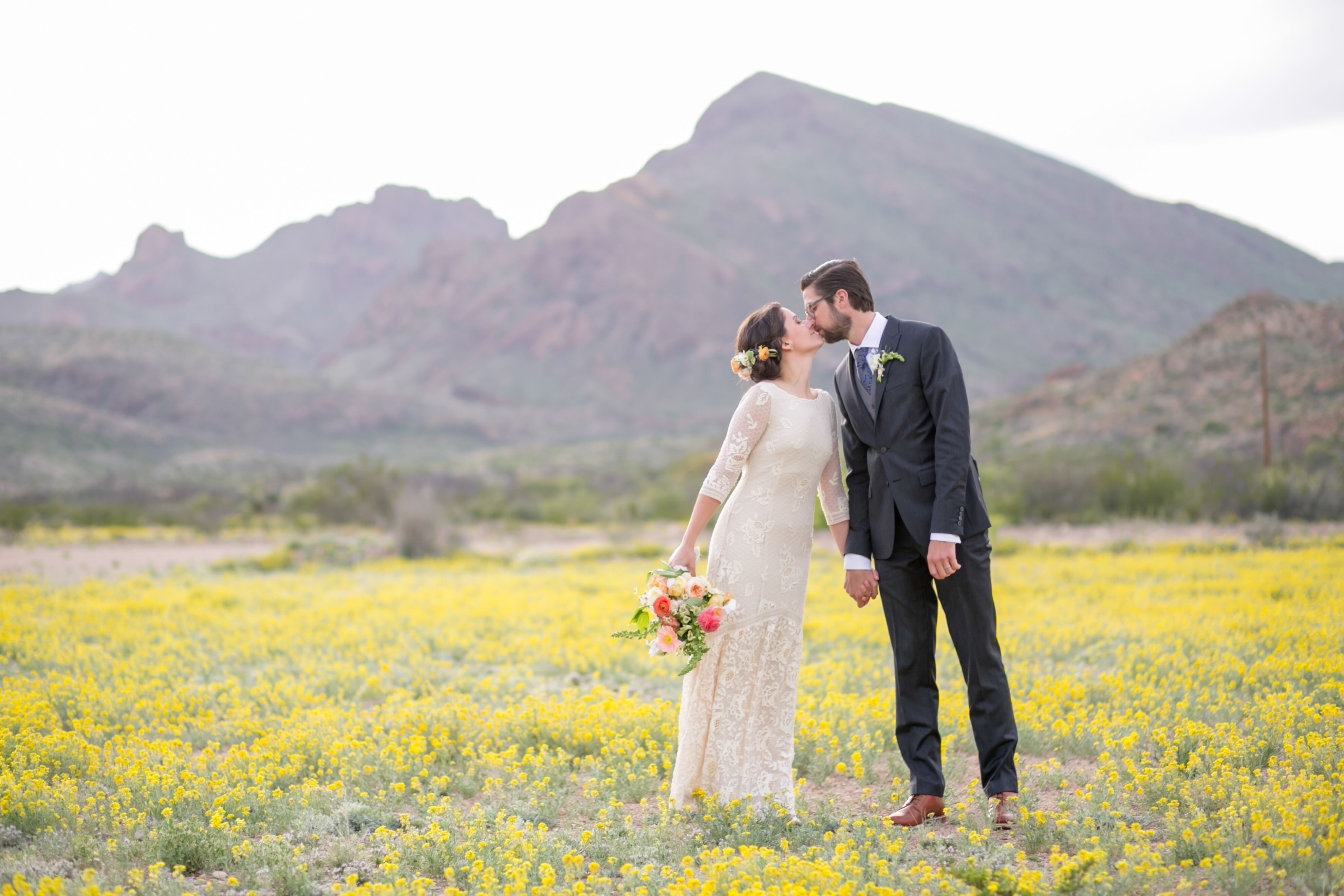 A Breathtaking Natural Wedding At Terlingua Ranch Lodge In