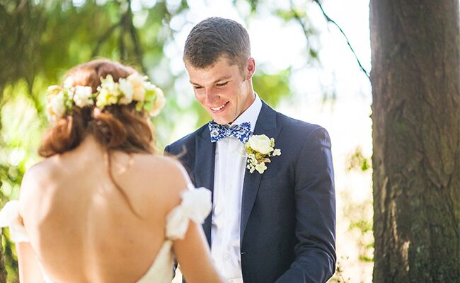 Jeremy roloffs wife audrey my little people big world wedding tips audrey roloff and jeremy roloff have their first look junglespirit Gallery