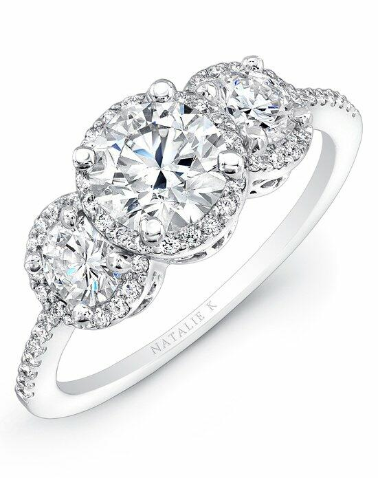 Natalie K Trois Diamants Collection - NK15981-W Engagement Ring photo